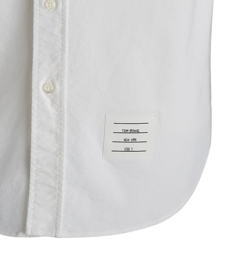 Elbow Patch Oxford Shirt image 3