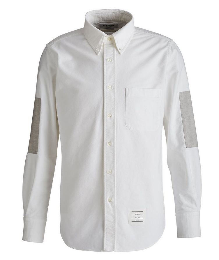 Elbow Patch Oxford Shirt image 0
