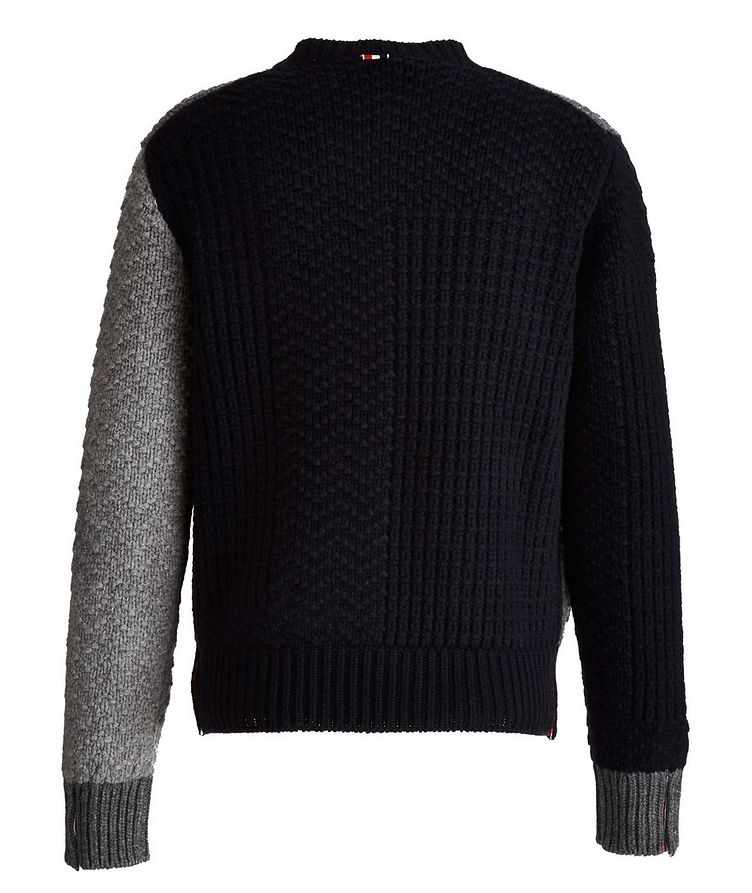 Paneled Wool Sweater image 1