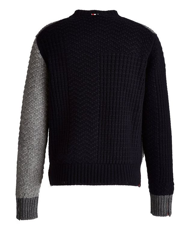 Paneled Wool Sweater picture 2