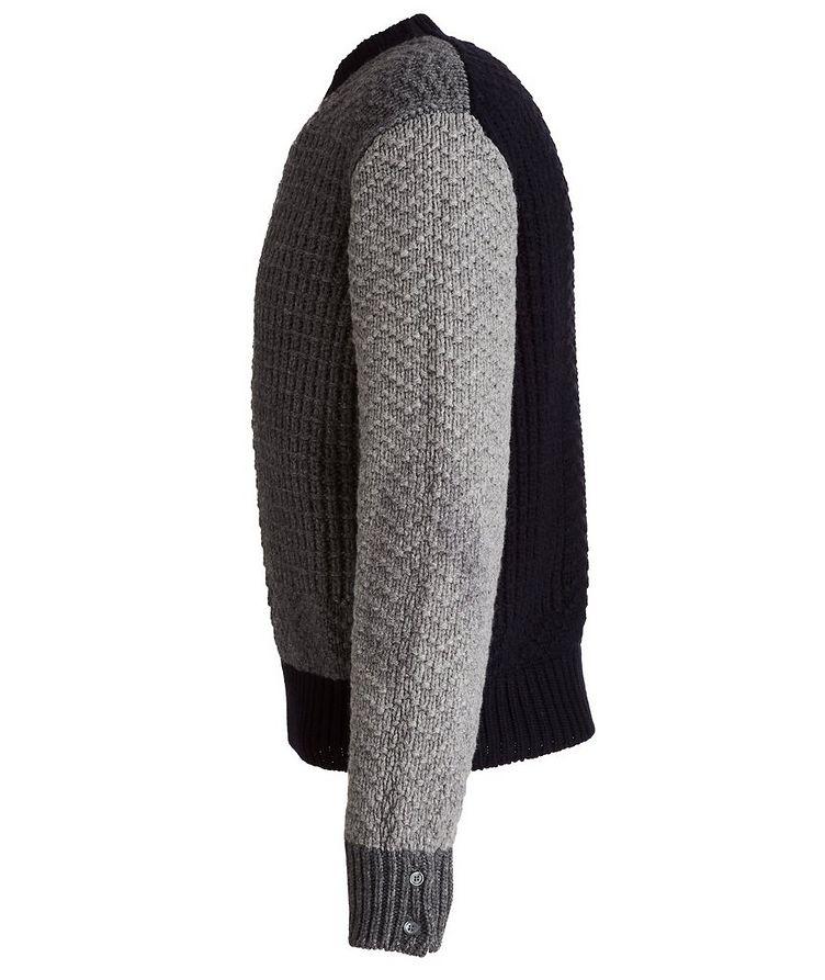 Paneled Wool Sweater image 2