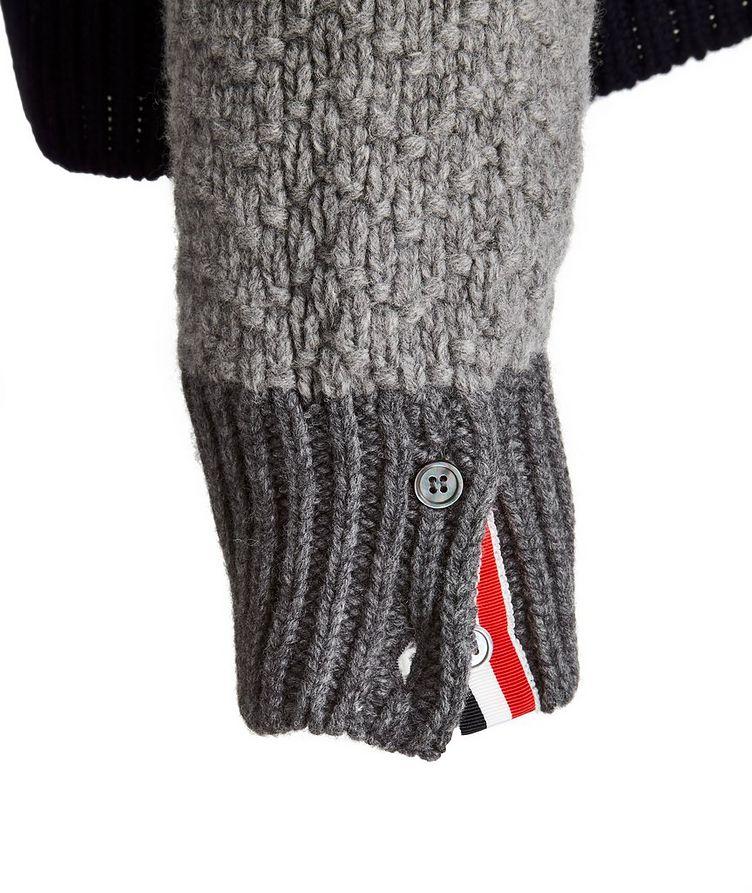 Paneled Wool Sweater image 3