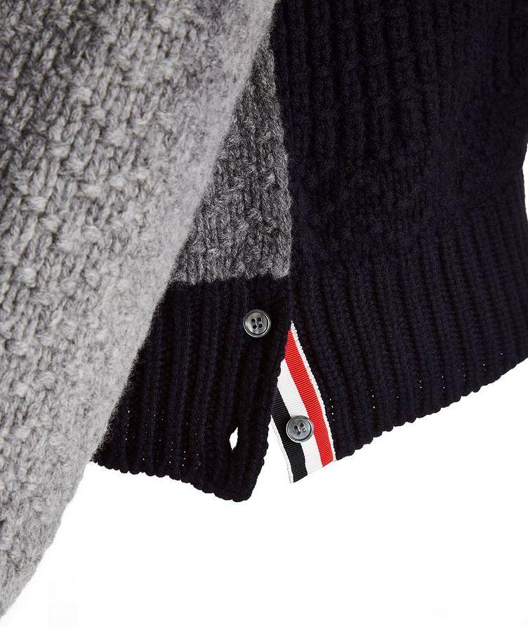 Paneled Wool Sweater image 4
