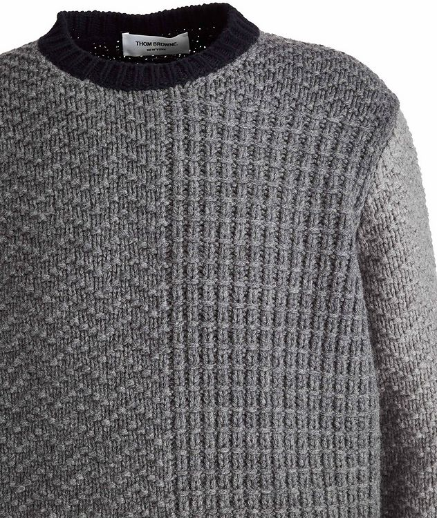 Paneled Wool Sweater picture 6