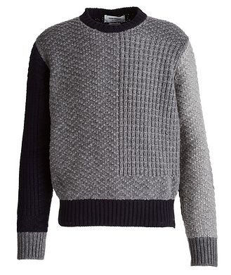 Thom Browne Paneled Wool Sweater
