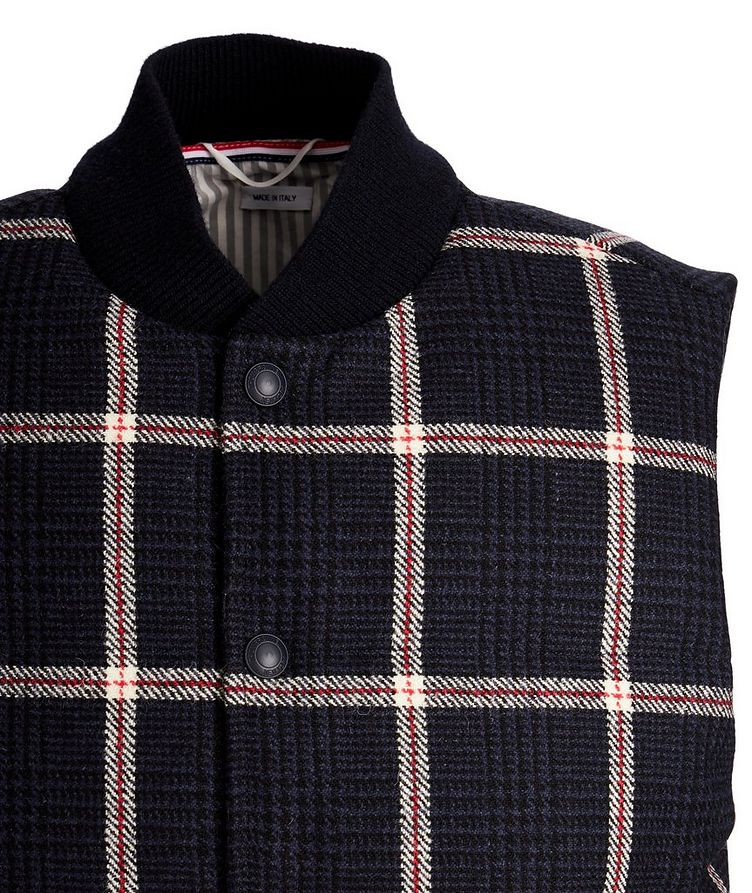 Checked Down Vest image 2