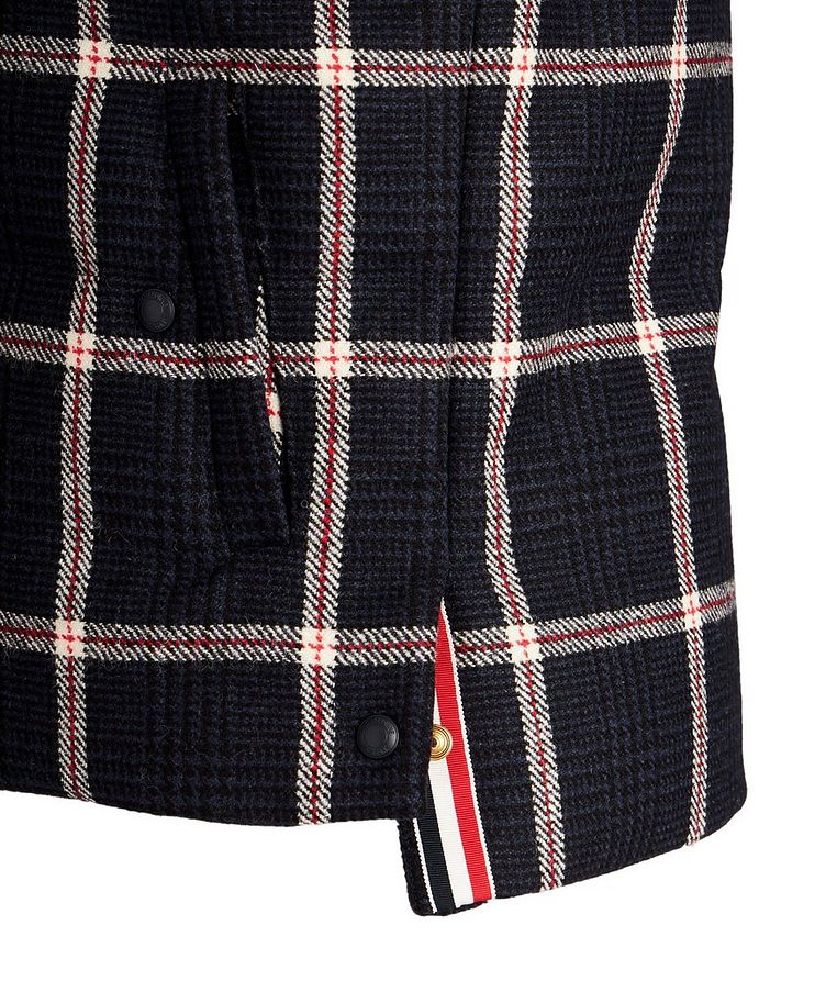 Checked Down Vest image 3