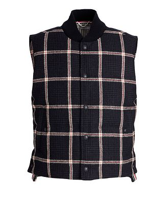 Thom Browne Checked Down Vest
