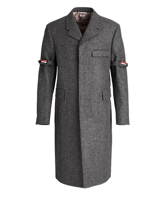 Chesterfield Melton-Wool Overcoat picture 1