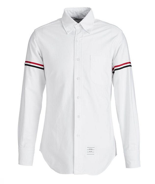 Grosgrain-Trimmed Cotton Shirt picture 1
