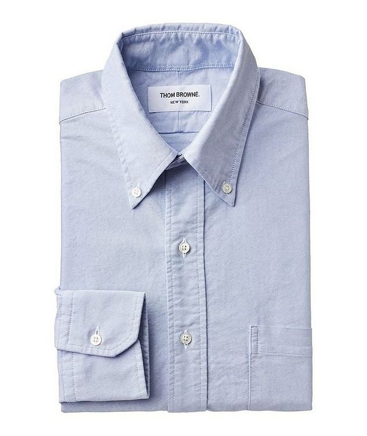 Grosgrain-Trimmed Cotton Shirt image 0