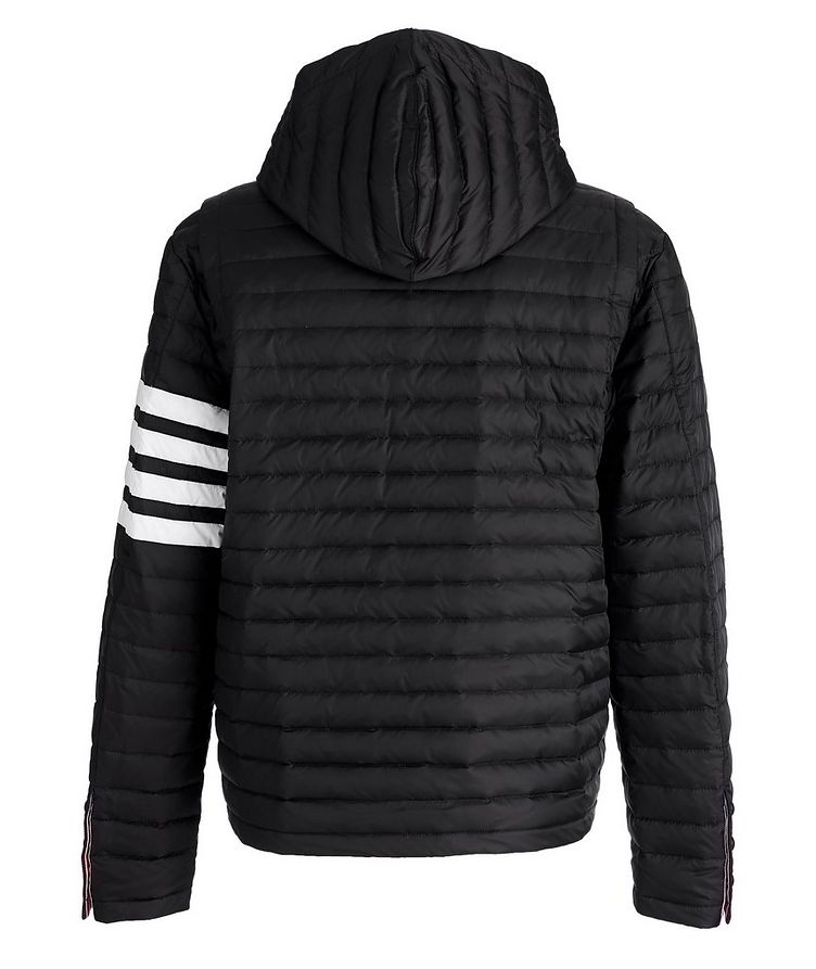 Hooded Quilted Down Jacket image 1