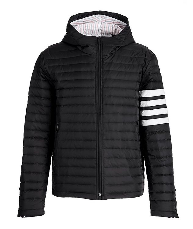 Hooded Quilted Down Jacket picture 1