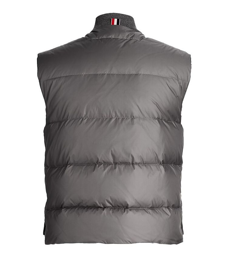 Quilted Down Vest image 1