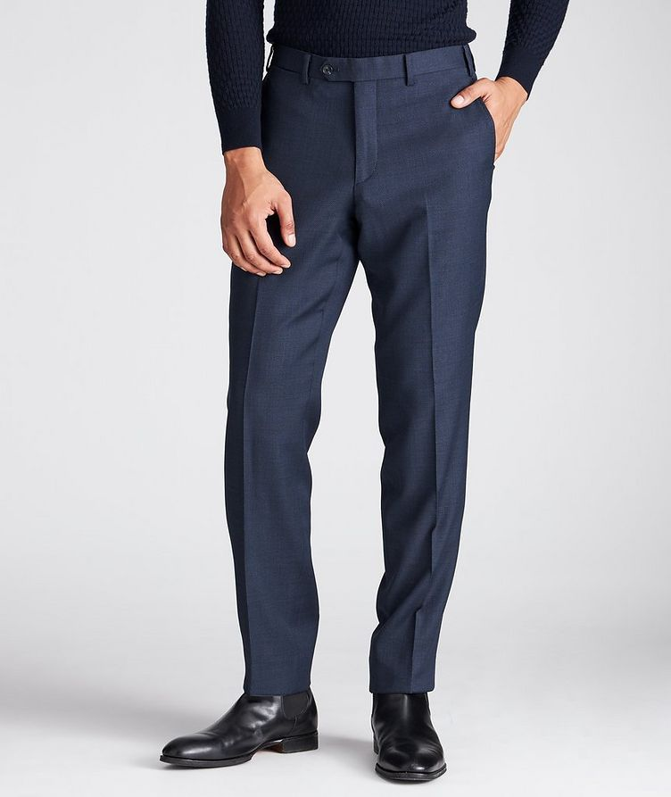 Stretch-Wool Dress Pants image 0