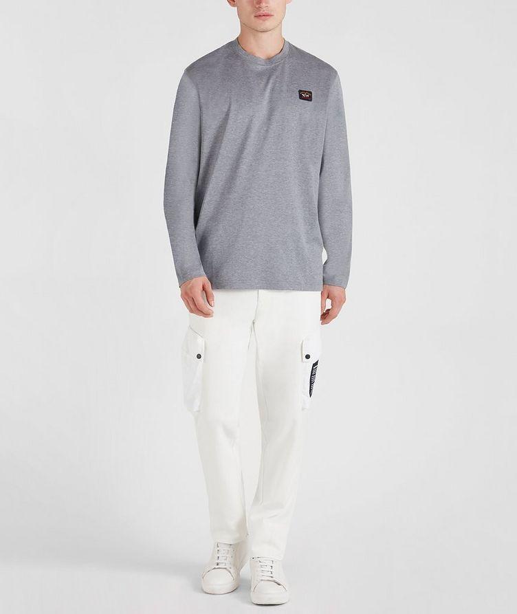 Long-Sleeve Cotton T-Shirt image 5
