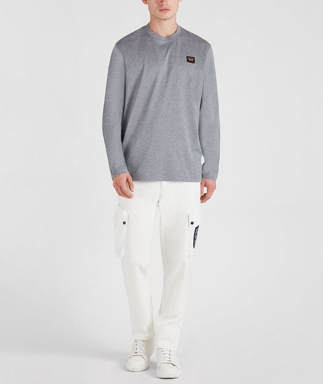 Long-Sleeve Cotton T-Shirt picture 6