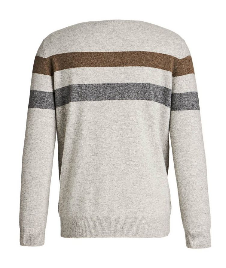 Striped Cashmere Sweater image 1