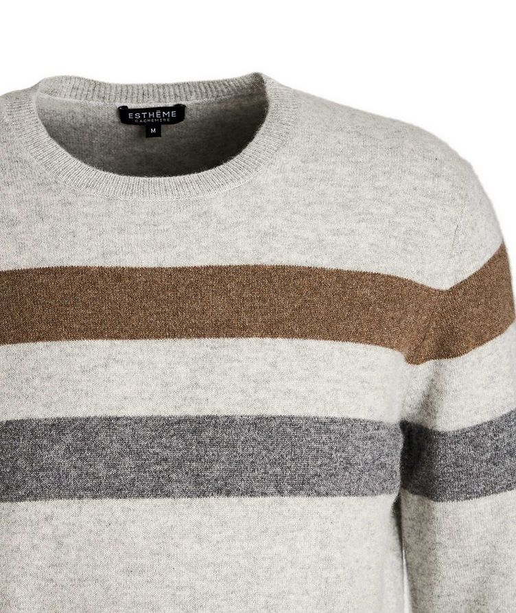 Striped Cashmere Sweater image 2
