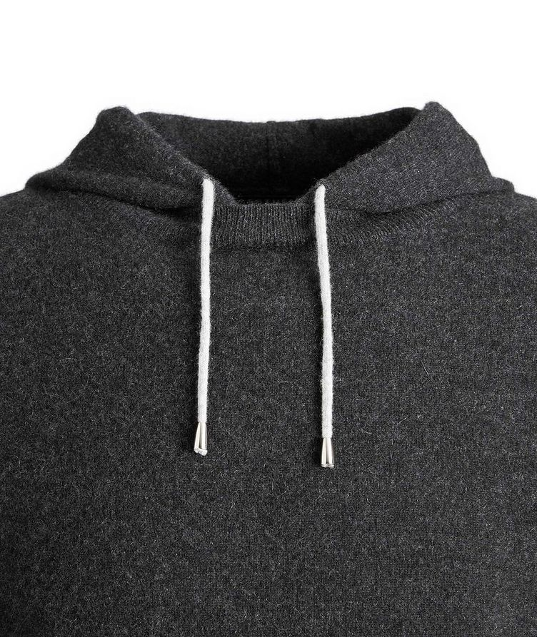 Knit Cashmere Hoodie image 1
