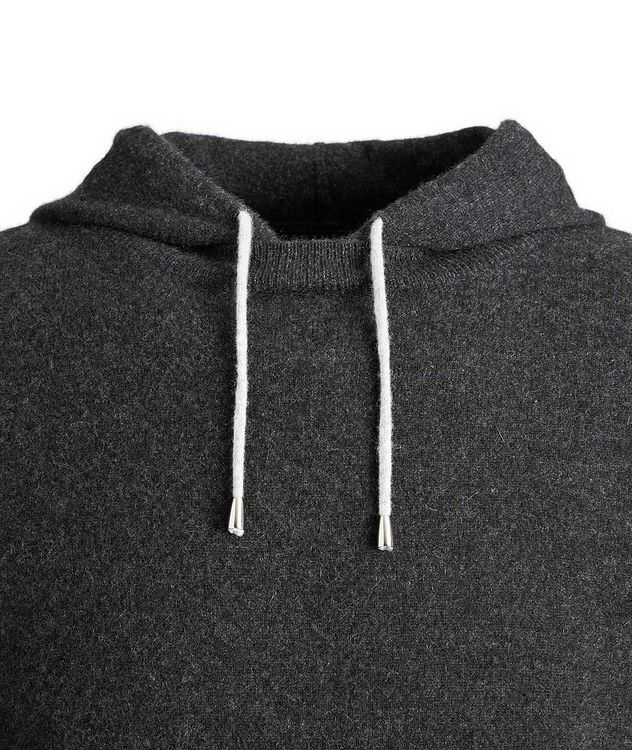 Knit Cashmere Hoodie picture 2