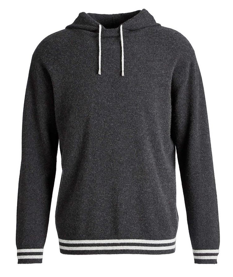 Knit Cashmere Hoodie image 0