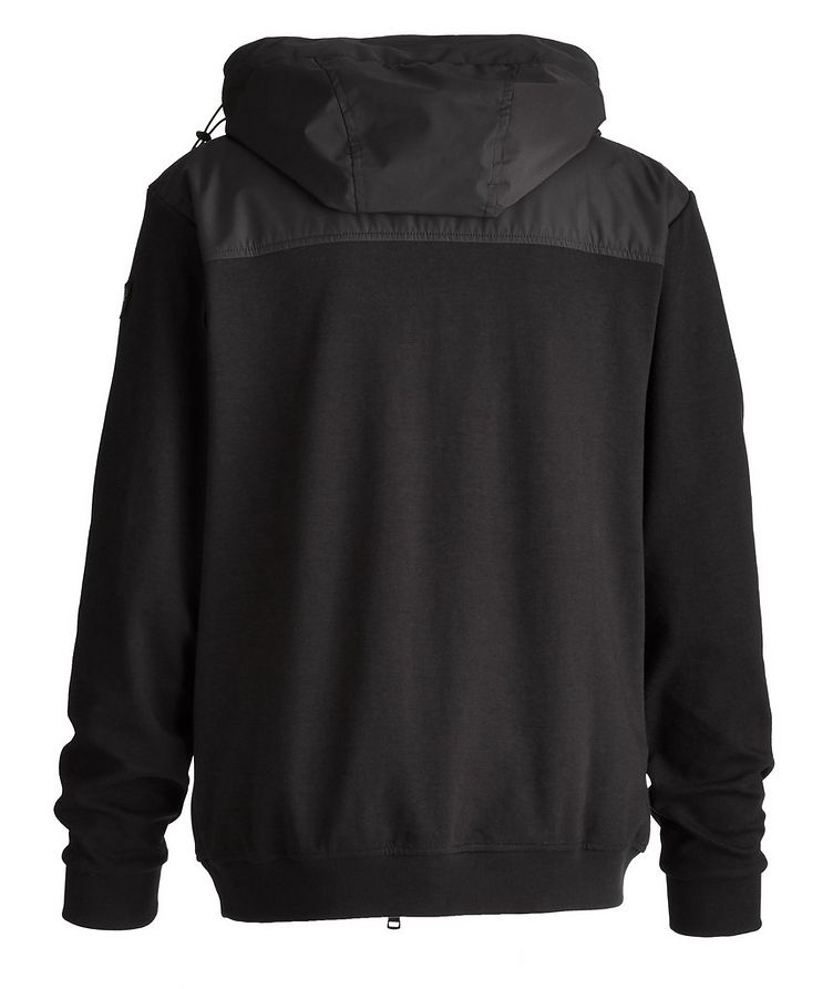 Organic Stretch Cotton Hooded Windbreaker image 1