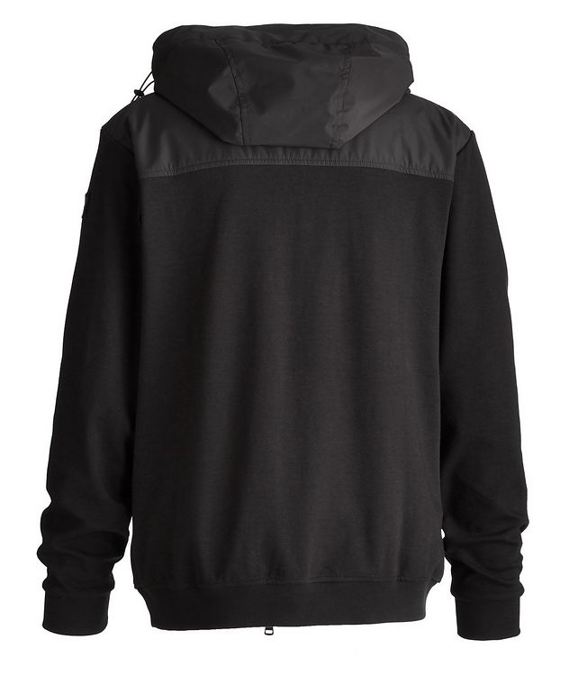 Organic Stretch Cotton Hooded Windbreaker picture 2