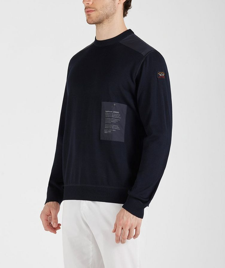 Typhoon 2000 Watershed Technical Wool-Blend Sweater image 1