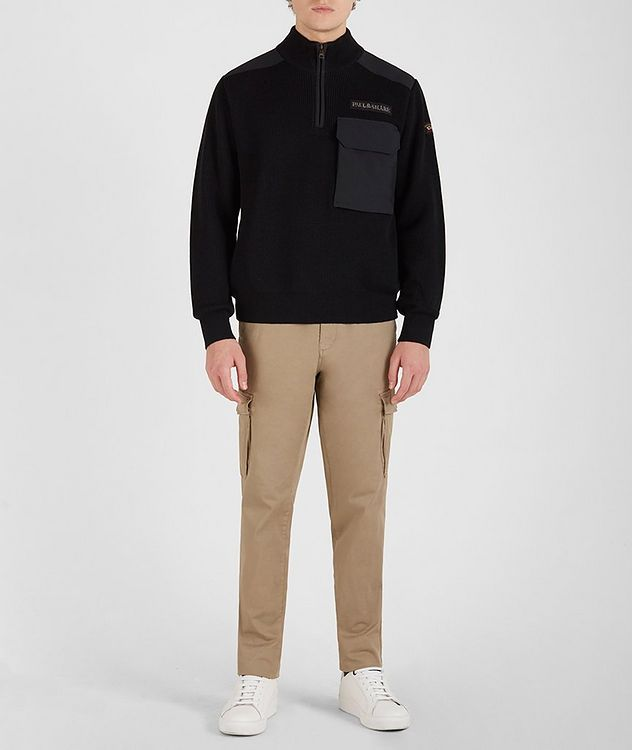 Half-Zip Knit Sweater picture 5