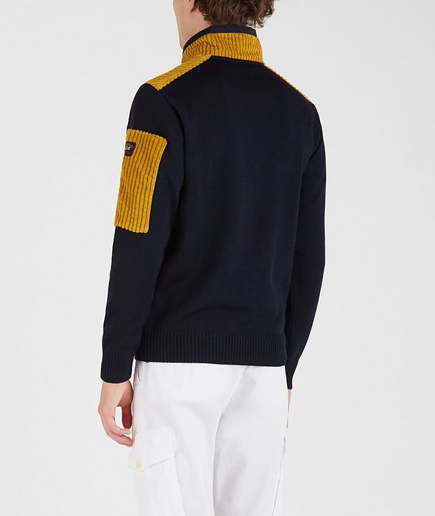 Half-Zip Corduroy Sweater picture 3