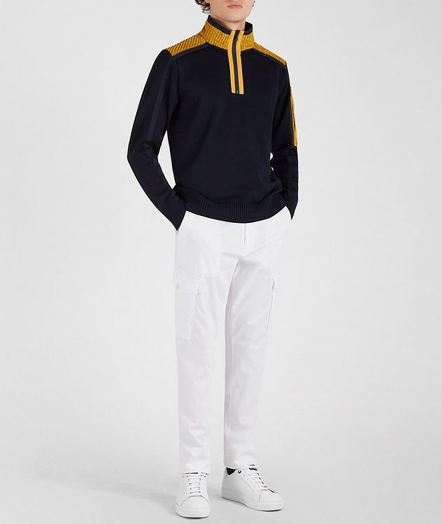 Half-Zip Corduroy Sweater picture 5