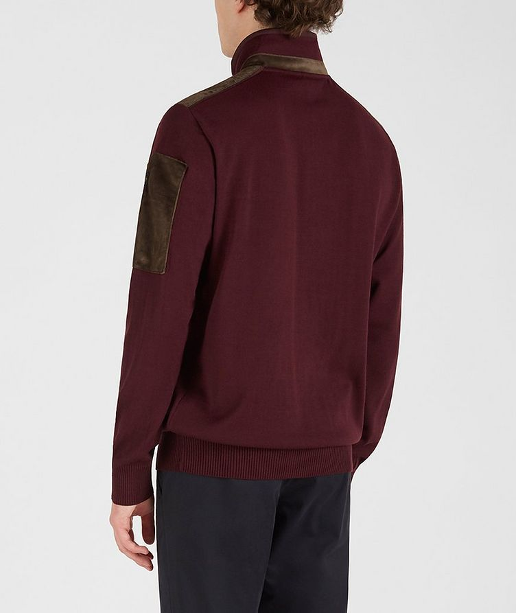 Half-Zip Wool-Blend Sweater image 2
