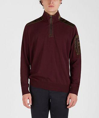 Paul & Shark Half-Zip Wool-Blend Sweater