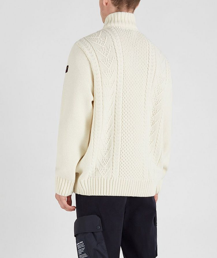 Zip-Up Wool-Blend Sweater image 4