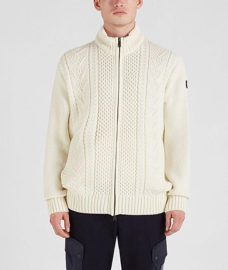 Zip-Up Wool-Blend Sweater image 0