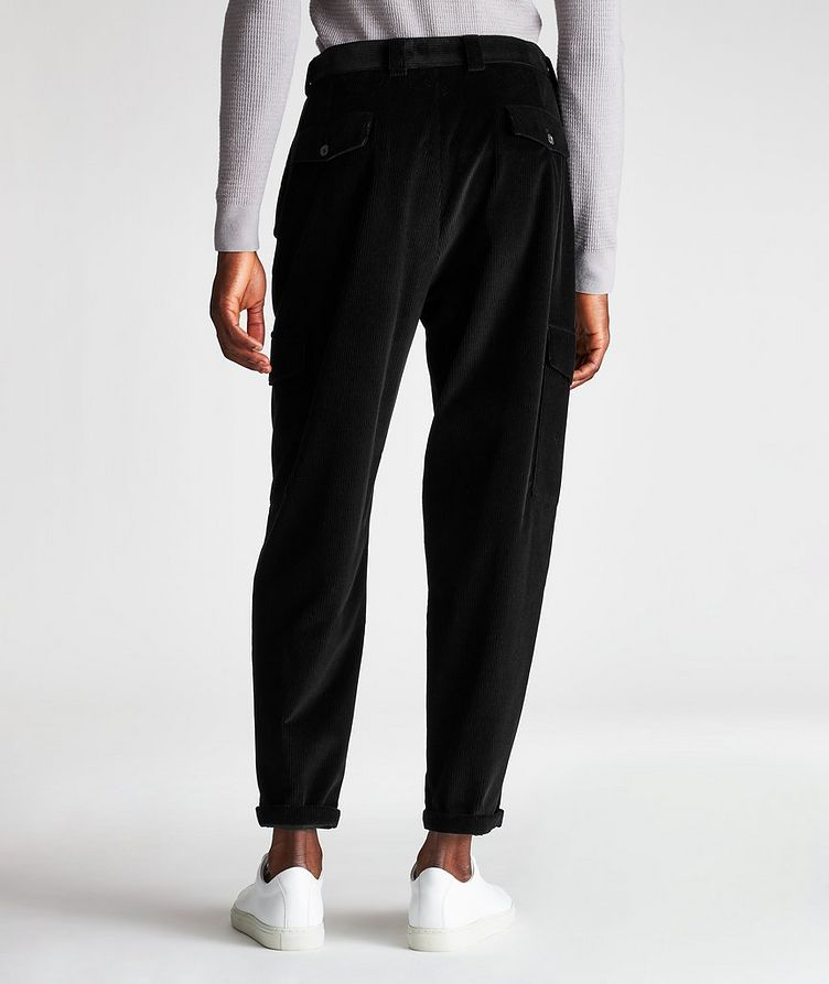 Corduroy Cargo Pants image 1