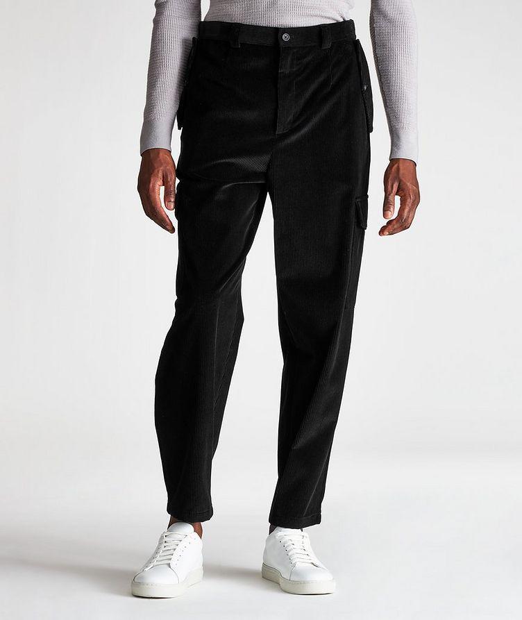 Corduroy Cargo Pants image 0