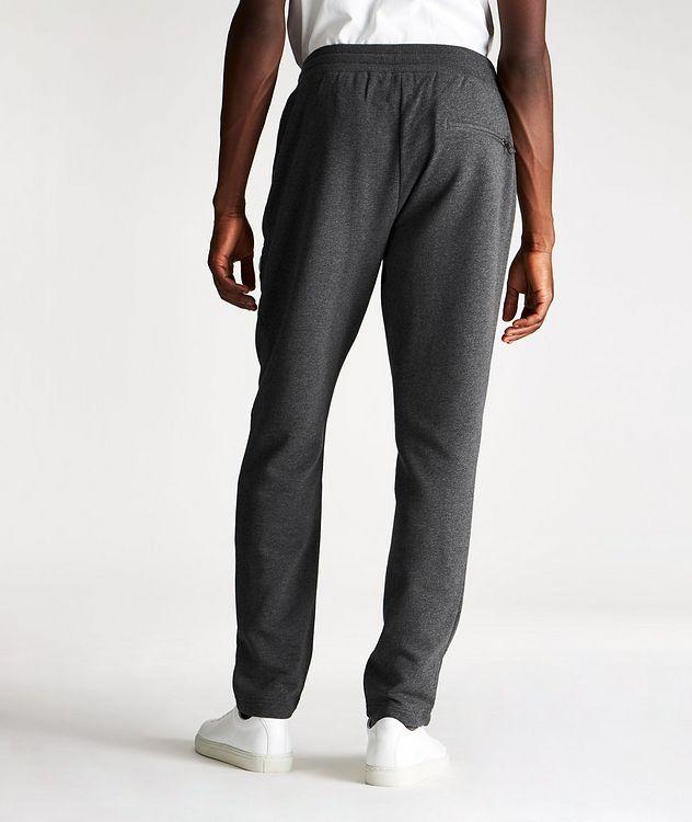 Pantalon sport en coton avec logo picture 2