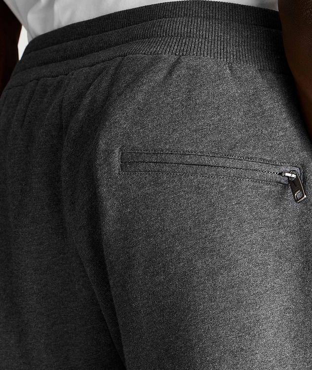 Pantalon sport en coton avec logo picture 3