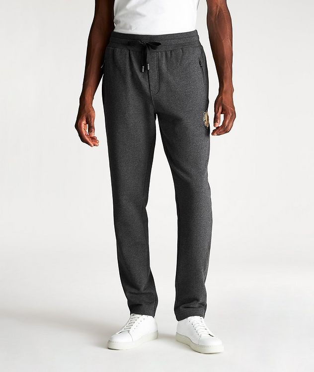 Sherpa Logo Cotton Joggers picture 1