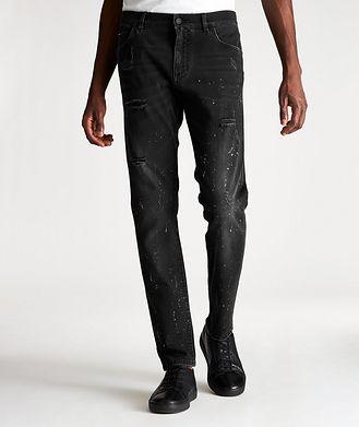 Dolce & Gabbana Slim Fit Distressed Jeans