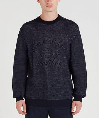 Paul & Shark Bouclé-Knit Wool Sweater