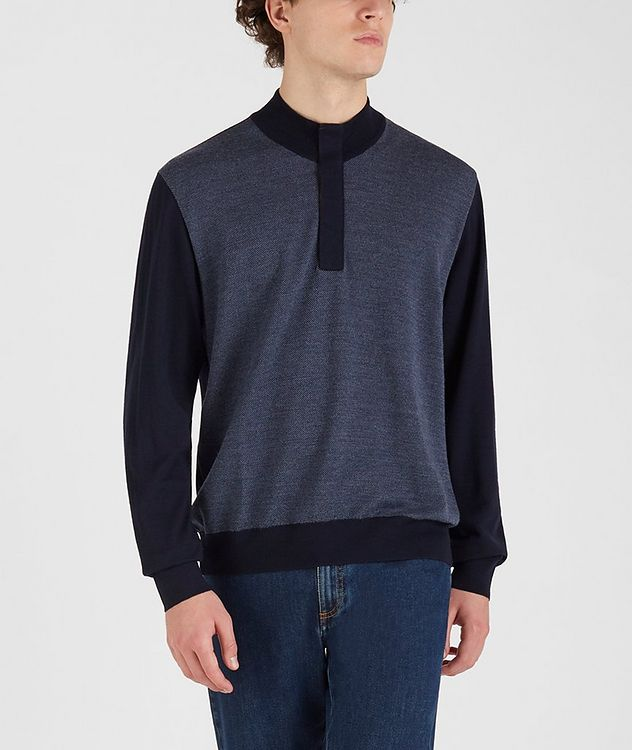 Tasmanian Wool-Cashmere Sweater picture 2