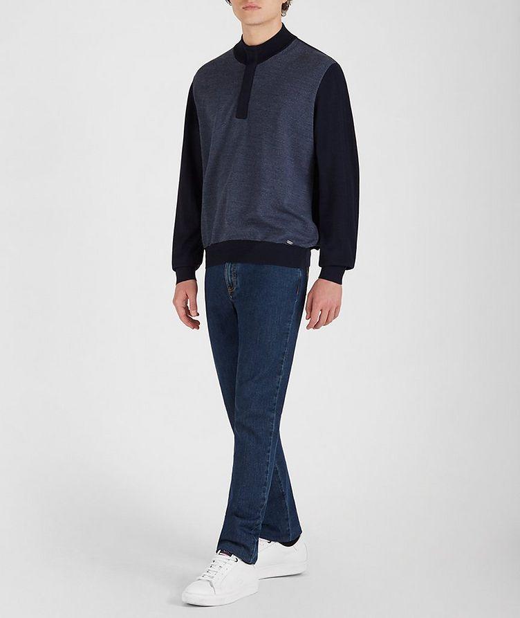 Tasmanian Wool-Cashmere Sweater image 4