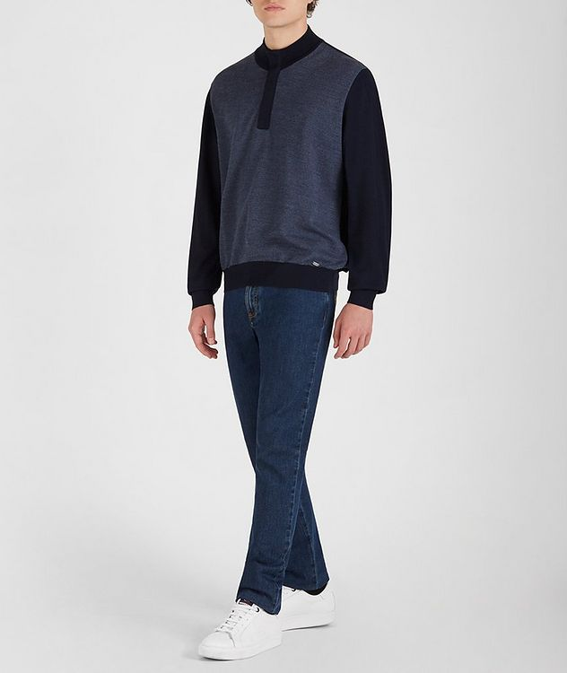 Tasmanian Wool-Cashmere Sweater picture 5