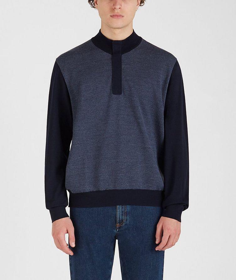 Tasmanian Wool-Cashmere Sweater image 0