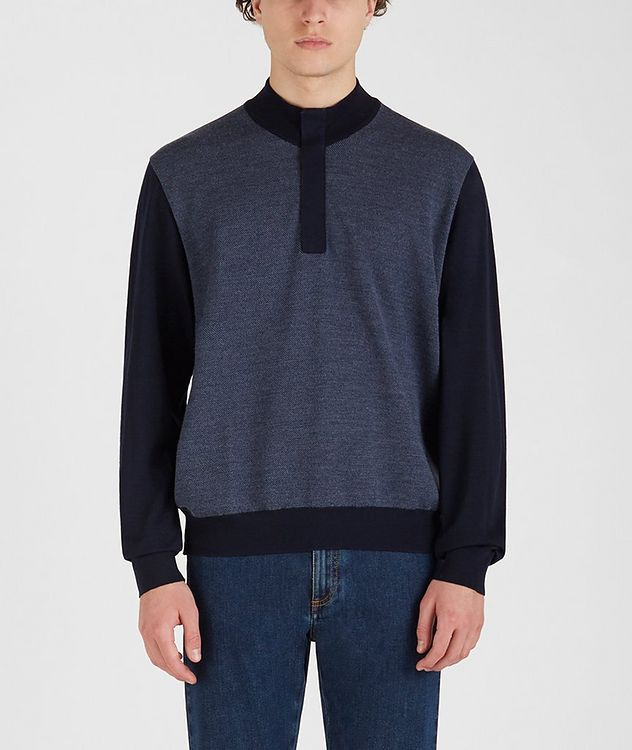 Tasmanian Wool-Cashmere Sweater picture 1