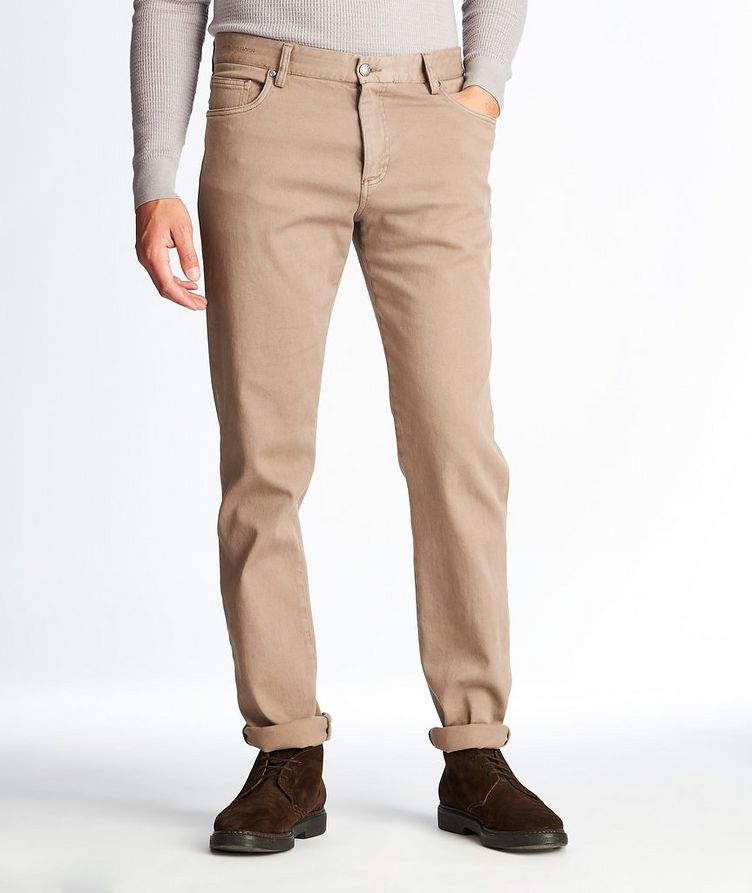 Flex Super Stretch Cotton Chinos  image 0
