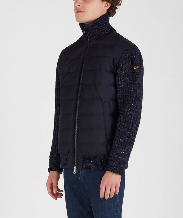 Typhoon 20000 Zip-Up Quilted-Knit Sweater picture 2